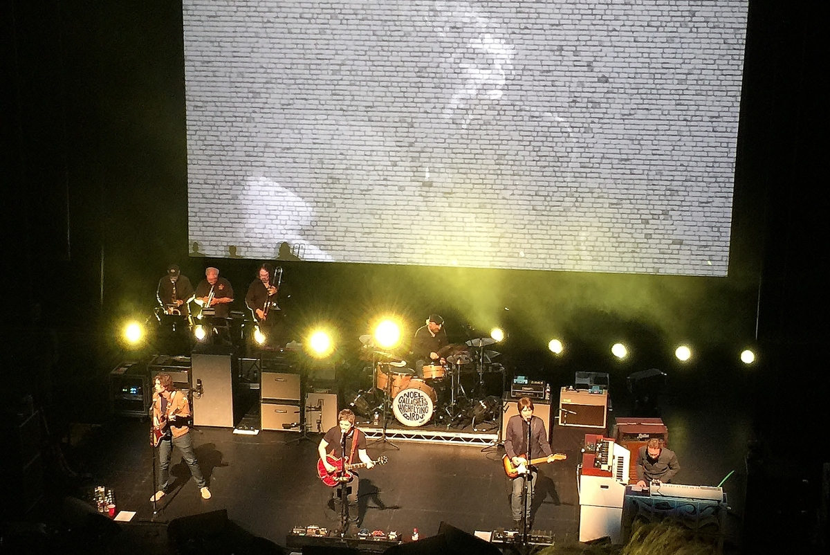 Noel Gallagher's High Flying Birds – Majestic Theatre in Dallas, May 14th,2015