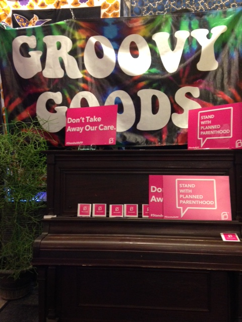 Planned Parenthood Drum Jam at Groovy Goods 9/29/15