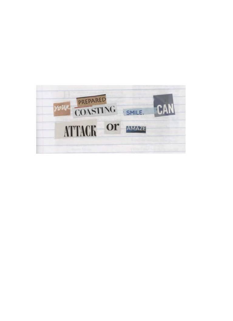 Attack or Amaze